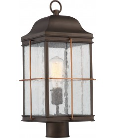 Nuvo Lighting 60/5835 Howell 1 Light Outdoor Post Lantern with 60w