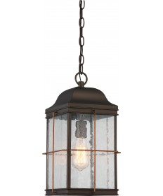 Nuvo Lighting 60/5836 Howell 1 Light Outdoor Hanging Lantern with 60w
