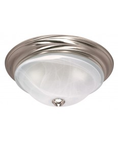 Nuvo Lighting 60/586 Nuvo 60-586 - Triumph - 1 Light - 11 inch - Flush Mount - Sculptured Glass Shades