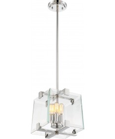Nuvo Lighting 60/6293 Shelby 4 Light Pendant Fixture Polished Nickel