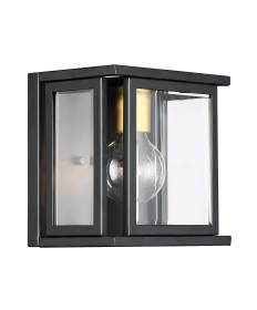 Nuvo Lighting 60/6411 Payne 1 Light Wall Sconce With Clear Beveled
