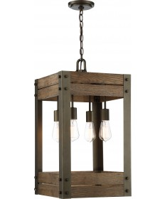 Nuvo 60/6426 Winchester Collection 5 Light Pendant Bronze/Aged Wood