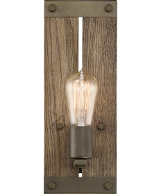 Nuvo Lighting 60/6427 Winchester Collection 1 Light Wall Sconce Bronze/Aged Wood