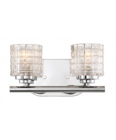 Nuvo Lighting 60/6442 Votive 2 Light Vanity With Clear Glass