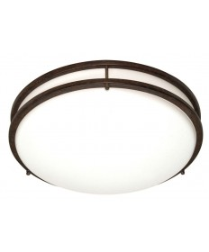 Nuvo Lighting 60/908 Glamour 3 Light Cfl 13 inch Flush Mount (3) 13w GU24 / Lamps Included