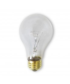 Bulbrite 107260 | 60 Watt Incandescent A19 Rough Service Bulb, Clear