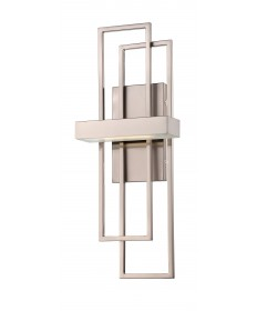 Nuvo Lighting 62/105 Frame LED Wall Sconce with Frosted Glass