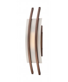 Nuvo Lighting 62/122 Trax 1 Module Wall Sconce with Frosted Glass