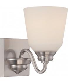Nuvo Lighting 62/366 Calvin 1 Light Vanity Fixture with Satin White