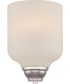 Nuvo Lighting 62/381 Kirk 1 Light Wall Sconce with Etched Opal Glass