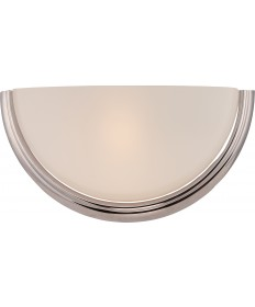 Nuvo Lighting 62/401 Dylan 1 Light Wall Sconce with Etched Opal Glass