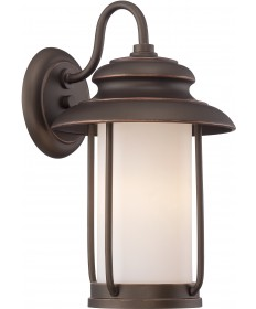 Nuvo Lighting 62/631 Bethany LED Outdoor Small Wall with Satin White