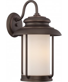 Nuvo Lighting 62/632 Bethany LED Outdoor Large Wall with Satin White
