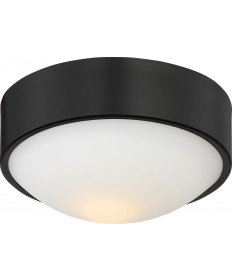 "Nuvo Lighting 62/773 Perk 9"" LED Flush with White Glass"