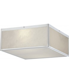 """Nuvo Lighting 62/891 Crate 14"""" LED Flush Fixture with Gray Marbleized"""