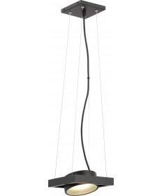 Nuvo Lighting 62/996 Hawk LED Pivoting Head Pendant Textured Black