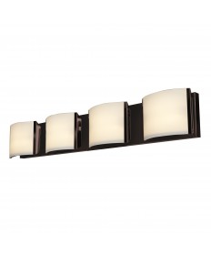 Access Lighting 62294-BRZ/OPL Nitro2 4-Light Vanity