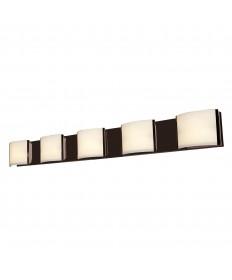 Access Lighting 62295-BRZ/OPL Nitro2 5-Light Vanity