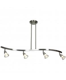 Access Lighting 63054LEDD-MC/ACR Optix 4-Light Dimmable LED Acrylic
