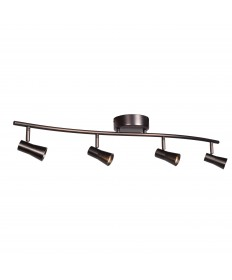 Access Lighting 63067LEDD-BRZ Sleek 4-Light Dimmable LED Spotlight
