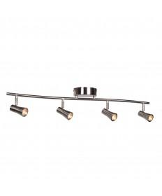 Access Lighting 63067LEDD-BS Sleek 4-Light Dimmable LED Spotlight