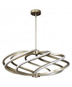 Access Lighting 63112LEDD-IGLD Vortex (l) 8-Light LED Pendant