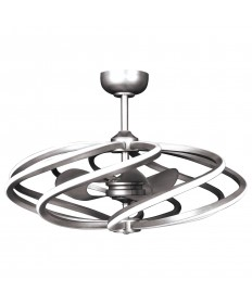 Access Lighting 63114LEDD-BS Vortex (l) 8-Light LED Pendant with Fan
