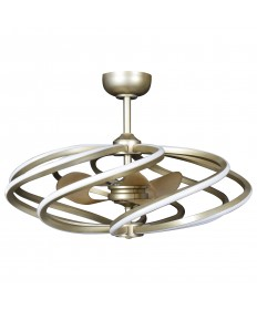 Access Lighting 63114LEDD-IGLD Vortex (l) 8-Light LED Pendant with Fan