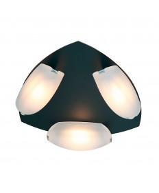 Access Lighting 63953LEDD-ORB/FST Nido 3-Light Dimmable LED Flush