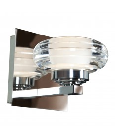Access Lighting 63971LEDD-CH/ACR Optix 1-Light Dimmable LED Vanity