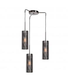 Access Lighting 63988-BCH/CLR Multis 3-Light Encaged Glass Pendant