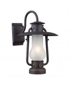 ELK Lighting 65004-1 Stagecoach 1 Light Sconce in Matte Black