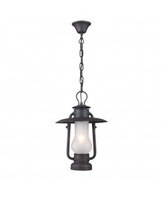 ELK Lighting 65006-1 Chapman 1 Light Pendant in Matte Black