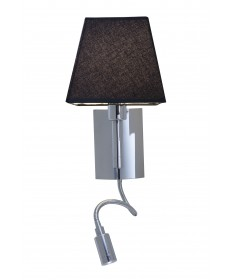 Access Lighting 70016LED-CH/BL Cyprus LED Gooseneck Wall Lamp