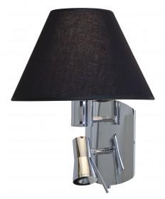 Access Lighting 70017LED-CH/BL Cyprus LED Gooseneck Wall Lamp