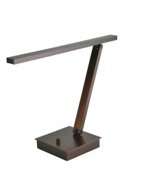 Access Lighting 72006LEDD-BRZ TaskWerx Linear LED Table Lamp