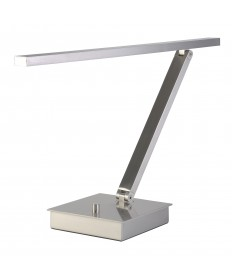 Access Lighting 72006LEDD-BS TaskWerx Linear LED Table Lamp