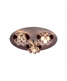 PLC Lighting 72133 AL/PC Bolero Collection