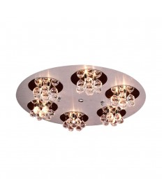 PLC Lighting 72135 AL/PC Bolero Collection