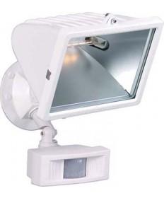 Nuvo Lighting 76/508 1 Light 12 inch Flood Light, Exterior Large Halogen w/Motion Sensor