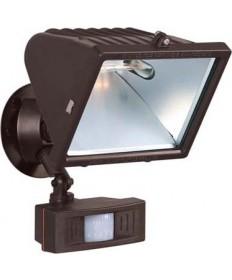 Nuvo Lighting 76/509 1 Light 12 inch Flood Light, Exterior Large Halogen w/Motion Sensor