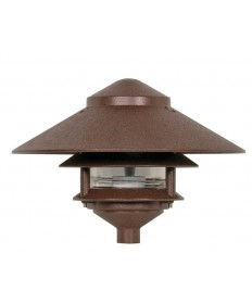 Nuvo Lighting 76/635 1 Light 9 inch Pathway Light Two Louver, Large Hood