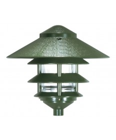 Nuvo Lighting 76/636 1 Light 8 inch Pathway Light Three Louver, Large Hood