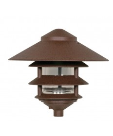 Nuvo Lighting 76/637 Nuvo 76-637 - 1 Light - 9 inch - Landscape Pathway Light - Three Louver - Large Hood