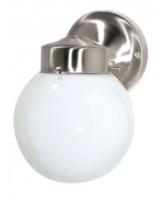 Nuvo Lighting 76/705 1 Light 6 inch Porch, Wall With White Globe