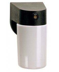 Nuvo Lighting 77/748 1 Light 8 inch Porch, Wall With Lexan Cylinder & Photoelectric Sensor