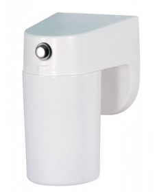 Nuvo Lighting 77/749 1 Light 8 inch Porch, Wall With Lexan Cylinder & Photoelectric Sensor
