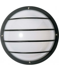 Nuvo Lighting 77/861 1 Light 10 inch Round Cage Wall Fixture Polysynthetic Body & Lens