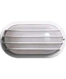 Nuvo Lighting 77/894 1 Light Cfl 10 inch Oval Cage Wall Fixture (1) 9W Twin Tube Incl