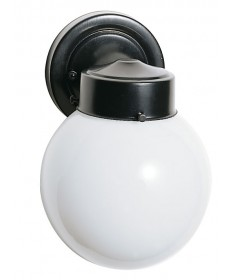 Nuvo Lighting 77/992 1 Light 6 inch Porch, Wall With White Globe
